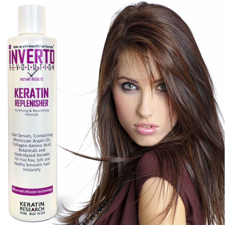 Details about Inverto Keratin Hair Replenisher Serum smooths hair no frizz repairs hair USA