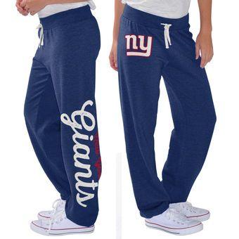 Women's New York Giants G-III 4Her by Carl Banks Royal Scrimmage Fleece Pants