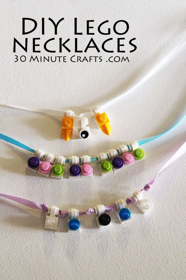 Lego Necklace and cuttable jewelry box
