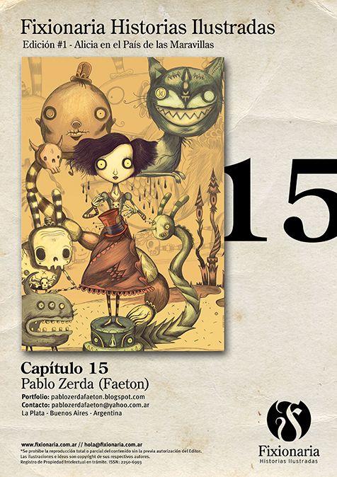 Alicia en el País de las Maravillas | Pablo Zerda (Faeton) -- www.fixionaria.com.ar