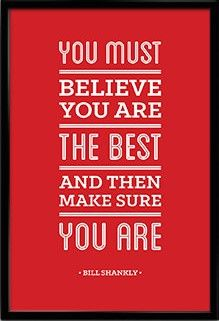 Bill Shankly Liverpool Fc Inspirational Best Quote Poster