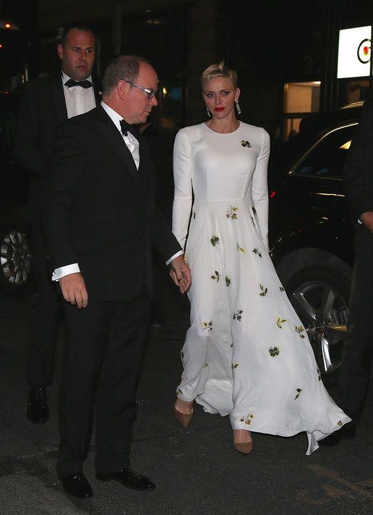 Il Principe Albert II e la Principessa Charlene