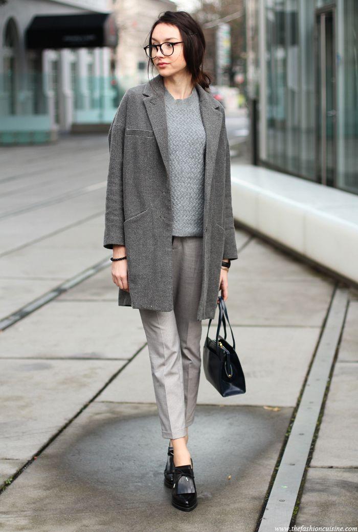 Fashion Street Style Grey Shoes