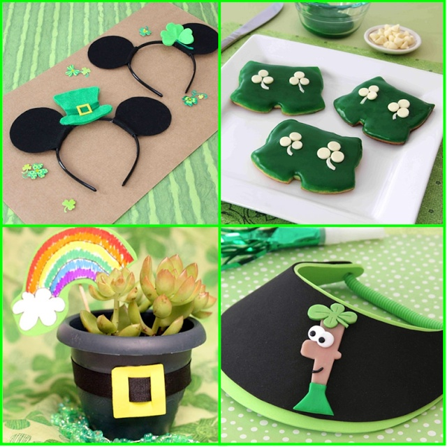 Disney St Patrick's Day #Crafts and #Recipes