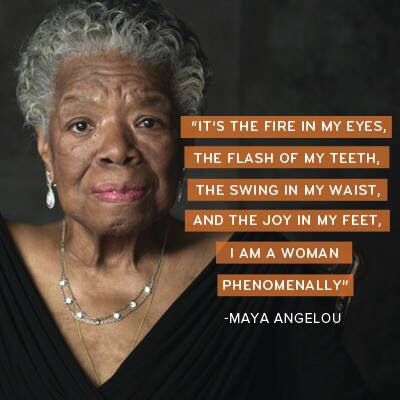 """maya angelou embodiment of Maya angelou claims that """"beauty is more than skin deep"""", it comes with a confidence such depth – the embodiment of dignity and inner strength."""