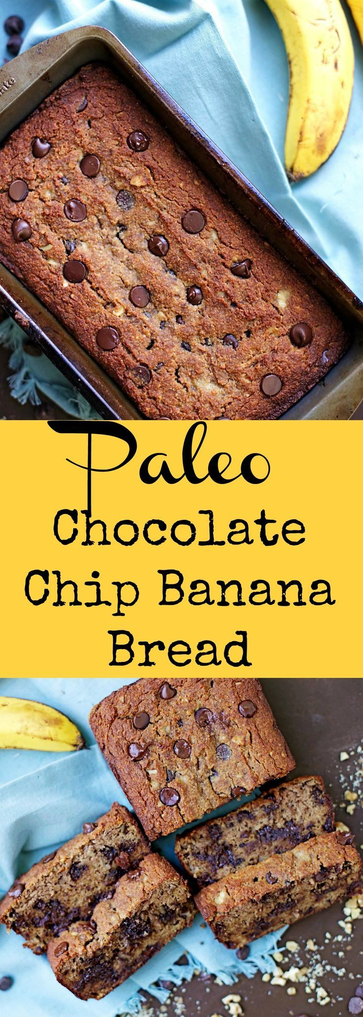Moist and delicious Banana Bread, no one will know that it's grain-free, refined sugar free, and Paleo!!: