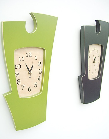 cool clock to go with the cool furniture.