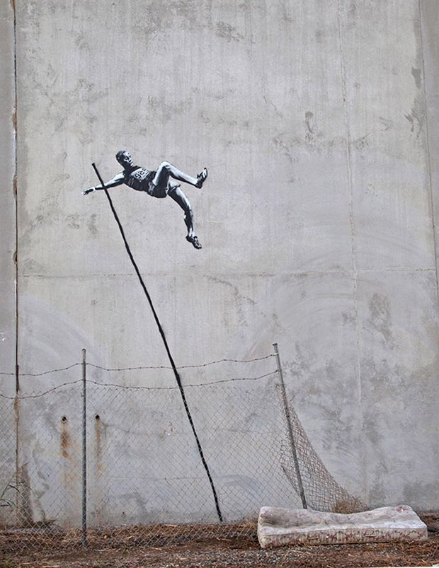 """I believe this is """"The Wall"""" in Palestine/Israel ... I like to call it the Occupation/Apartheid  Wall ... One day it will come down, just like 'The Berlin Wall"""" ... kd"""