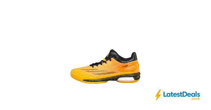 adidas Crazylight Boost Basketball Shoes Solid Black/Solid Gold Save £88, £16.99 at MandM Direct