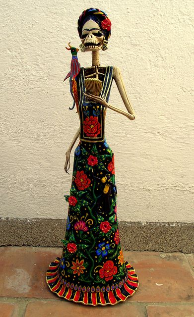 Frida Kahlo Catrina by el_catrinero, via Flickr