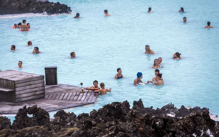 Lagoon Bar in Blue Lagoon, Iceland - Chill Out at the World's Coolest Swim-Up Bars | Travel + Leisure