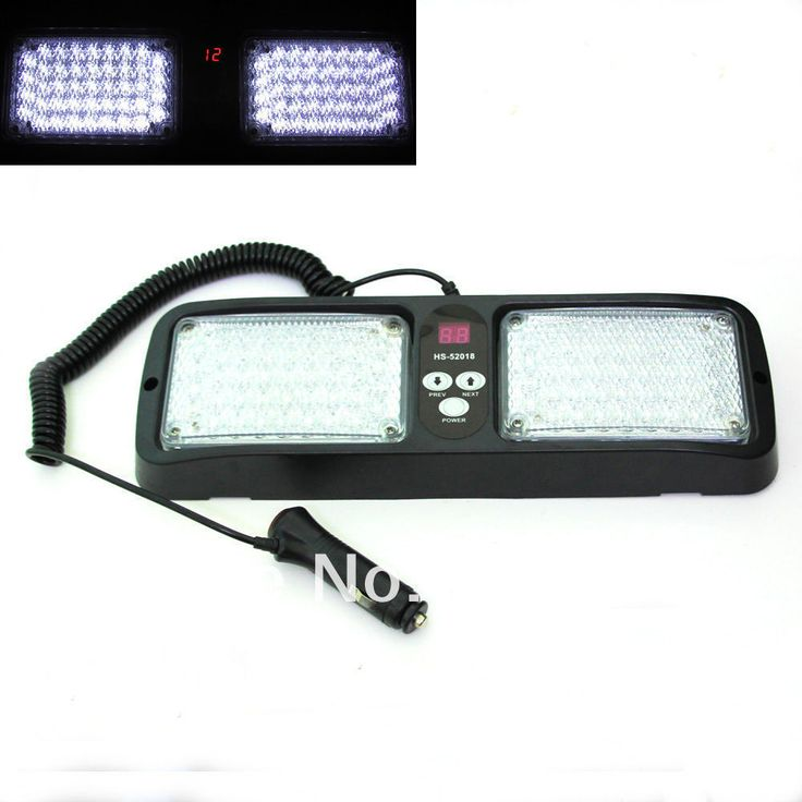 ==> [Free Shipping] Buy Best 86 LED White/yellow/blue/red Emergency Vehicle Car Truck Super Bright Visor Strobe Lights Flash light Online with LOWEST Price | 1720537520