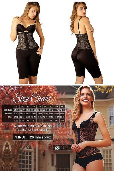 Women Shapewear: Vedette 508 Coco Strapless Mid Thigh Full Body Shaper. Faja Colombiana BUY IT NOW ONLY: $58.0
