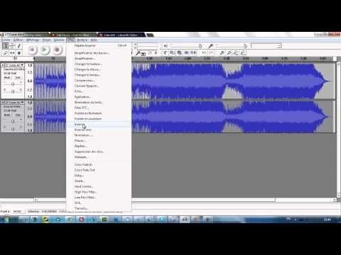 Instrumental sur ordinateur ou tablette / Obtenir instrumental à partir d'une chanson - Audacity - YouTube