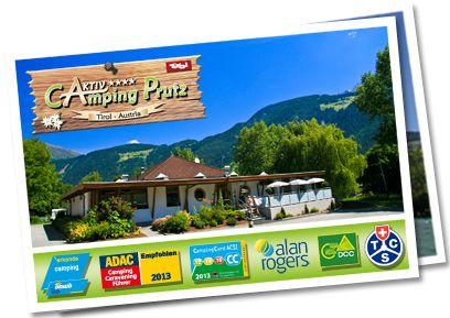 OBER-INNTAL, PRUTZ, Aktiv Camping Prutz, Tirol, 32,-euro