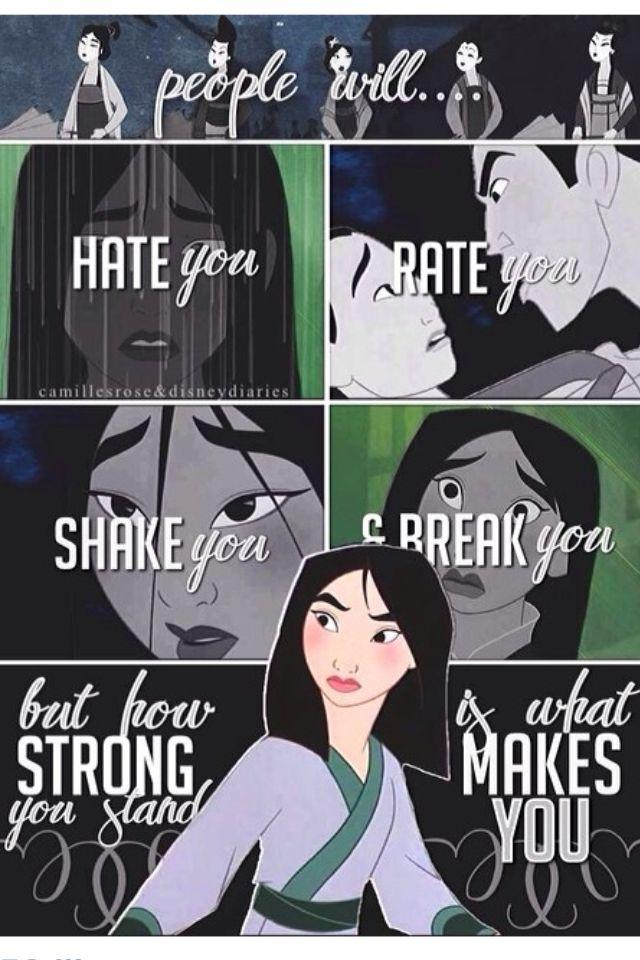 25+ best Mulan quotes on Pinterest