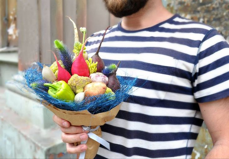 букеты из овощей Sovkusom