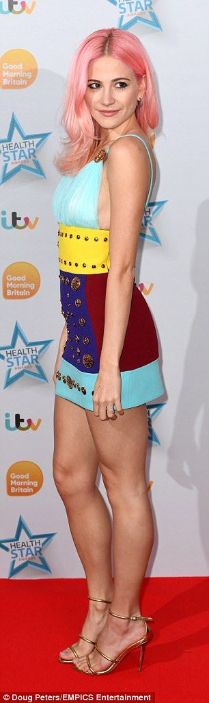 Pixie Lott and Kimberley Walsh attend ITV's Heath Awards | Daily Mail Online
