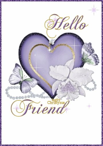 Hello friend hello angel friend comment good morning good day greeting graphic beautiful day
