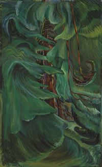 Emily Carr --- A fabulous Canadian artist. This painting is at the Vancouver Art Gallery.