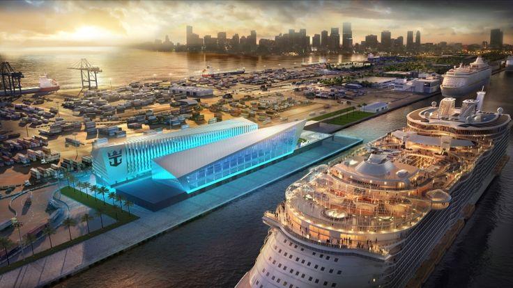Terminal de Cruceros de Royal Caribbean en Miami