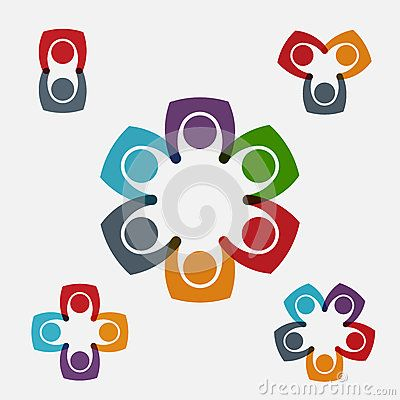 Teamwork set of logos for sale $5000 to own the copyrights.