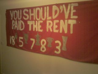 You should've paid the rent
