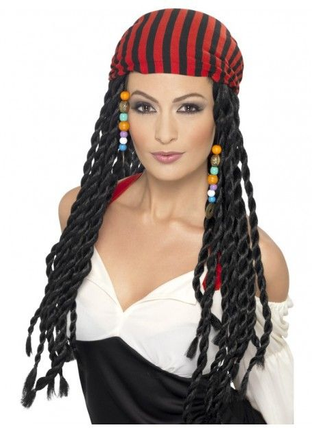 Let's Party With Balloons - Woman's Pirate Wig, $30.00 (http://www.letspartywithballoons.com.au/womans-pirate-wig/)