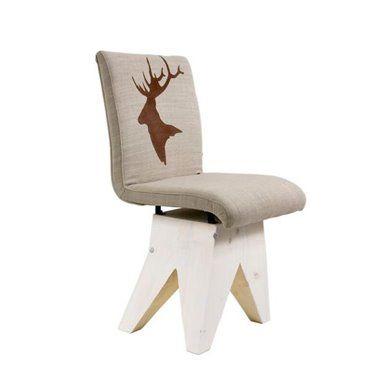 """Krzesło z motywem """"Jeleń"""""""