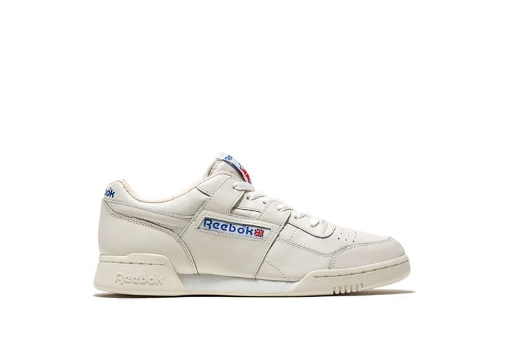 Workout plus vintage Sneakers color white-workout plus vintage sneakers in white leather. pre-cut eva midsole. abrasion resistant rubber sole. height of sole: 2 cm. height of heel: 3 cm.
