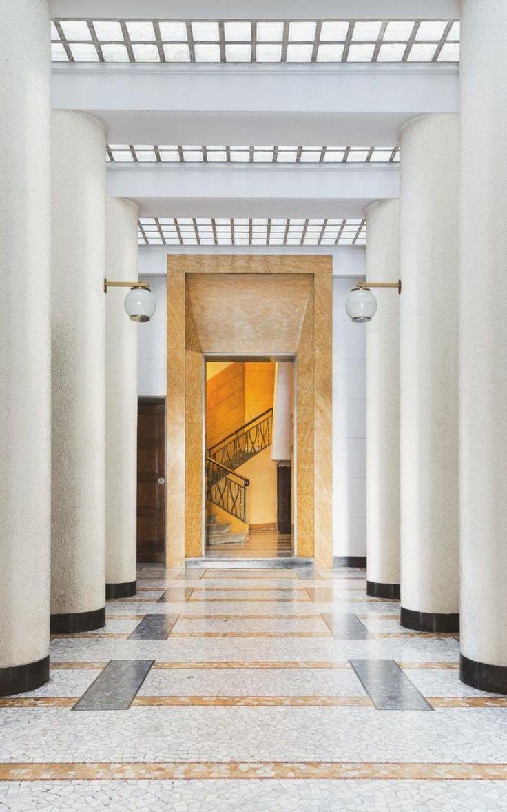 Villa necchi campiglio by piero portaluppi platform - Pier Giulio Magistretti 1934 36 Sconces By Ignazio Gardella
