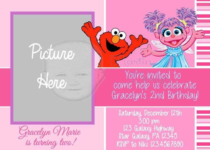 Best 25 Elmo birthday invitations ideas – Design for Birthday Invitation