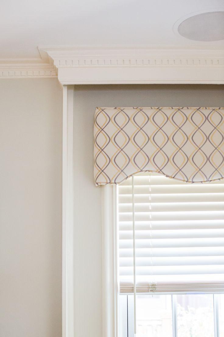 Pass auf die Fenster auf! Römische Schatten, Vorhänge oder Jalousien mit einem Gesims …   – windows