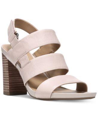 Franco Sarto Jena Block-Heel Sandals | macys.com
