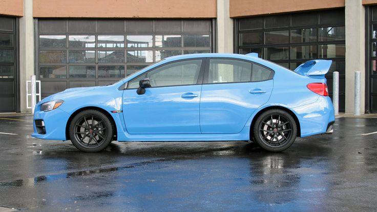 2016 Subaru WRX STI Series