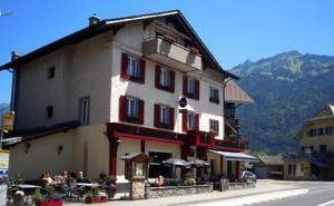 Hotel Tell, Interlaken, Switzerland Recommended for 5 adults, 6 children Price for 3 nights $1776 1 × Apartment (6 Adults)	 AUD 924	 Total for 3 nights:  1 × Apartment (5 Adults)	 AUD 852 Looks ok.