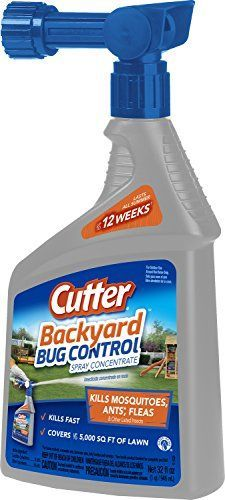 Cutter Backyard Bug Control Spray Concentrate HG61067 32 fl oz -- For more information, visit image link.