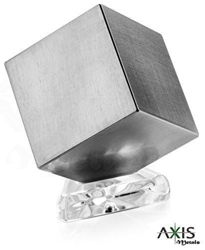 Tungsten Cube Office Décor by Axis Metals | One Kilo Weight | Teacher Desk Decoration & Science Class Density Demonstration | Fun Desktop Conversation Piece | Cool Gift