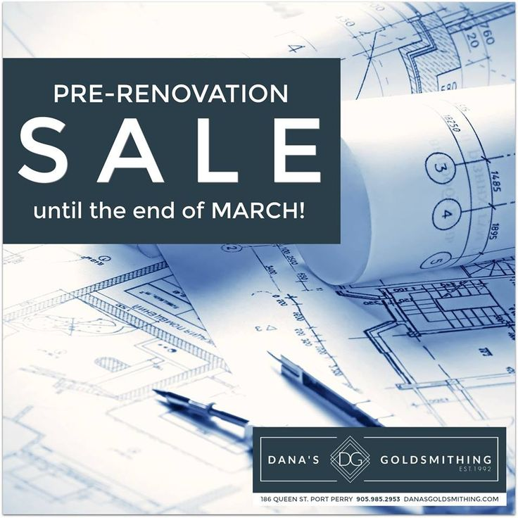 Enjoy our pre-renovation sale on now until the end of March. 50% OFF our selection of in-stock jewellery. PLUS 20% off jewellery brands you love.   Our construction has been delayed. We will be open for business as usual for all of March and expect our temporary closure to begin early April. Now's the time to get your repairs and custom orders in! . . #jewellery #sale #PortPerry #diamond #ring #pendant #bracelet #earrings #necklace