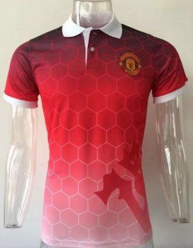 2017 Polo Jersey Manchester United Replica Football Shirt [AFC297]