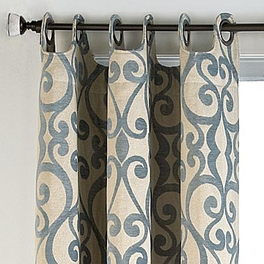 Palais Grommet Top Drapery Panel Drapery Ideas Pinterest Window Treatments Home And Cindy