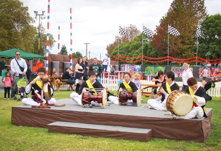(New Waikato Show) Korean Group Perfomance
