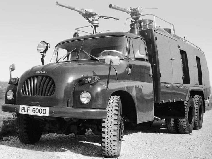 Rosenbauer PLF6000 на шасси Tatra T138 '1967–72