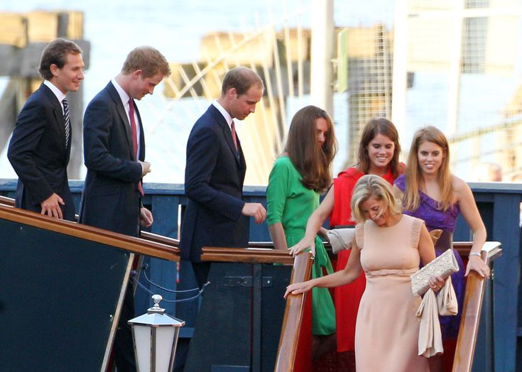 Prince Harry - Zara Phillips And Mike Tindall Host Pre Wedding Party On Brittania