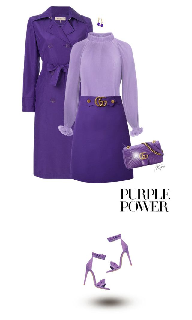 """Purple Power!"" by jgee67 ❤ liked on Polyvore featuring Emilio Pucci, TIBI and Gucci"
