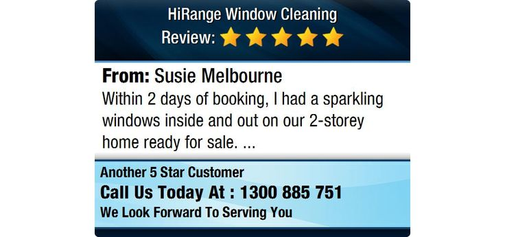 Within 2 days of booking, I had a sparkling windows inside and out on our 2-storey home...