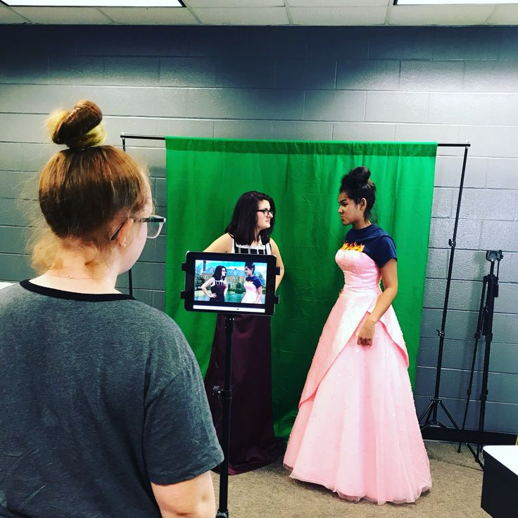 AMS Library on Green screen app, Higher education, Student