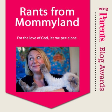 """Laugh along with Rants From Mommyland, as the writers """"celebrate the 'joys' of motherhood."""" Learn more about the blog, nominated for the Parents Best Blog Awards!"""