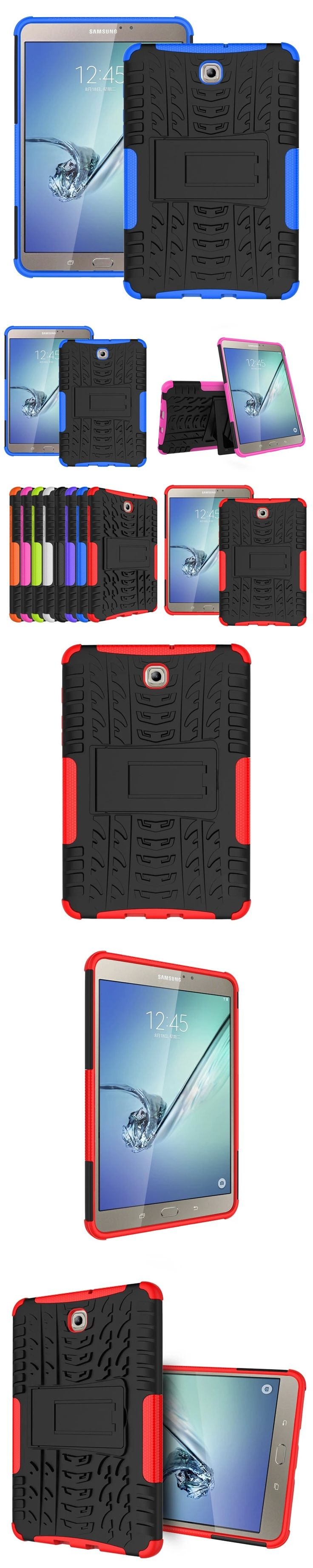 HH Heavy Duty Armor Hybrid TPU PC Hard Cover Case for Samsung GALAXY Tab S2 8.0'' SM T710 T715 T713 T719 tablet PC Cover Case