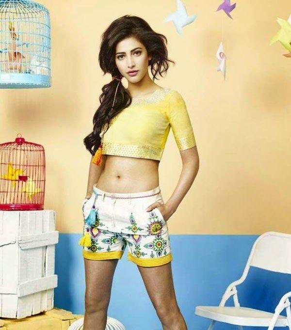 Shruti Haasan Dazzling Photoshoot for Shoppers Stop